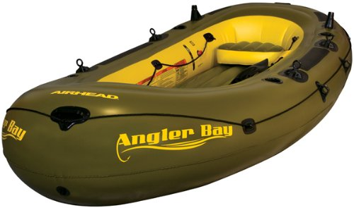 AIRHEAD ANGLER BAY Inflatable Boat,...