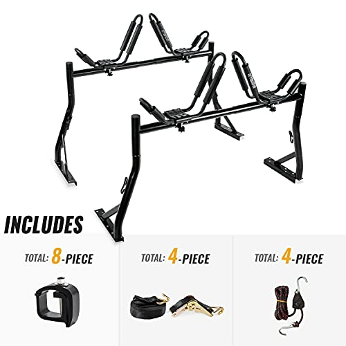 AA-Racks Model X35 Truck Rack with 8 Non-Drilling...