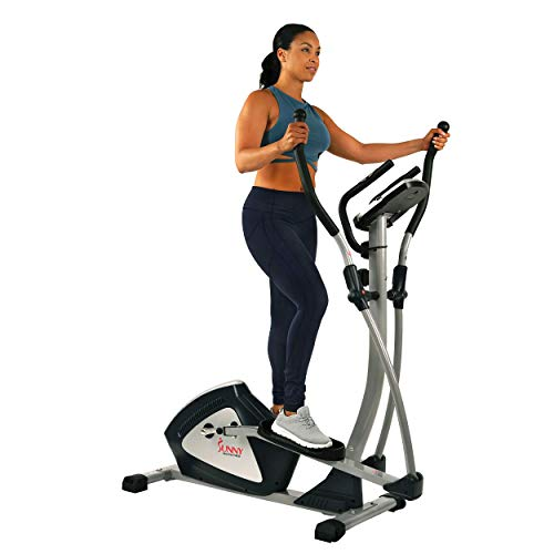 Sunny Health & Fitness Magnetic Elliptical Trainer...