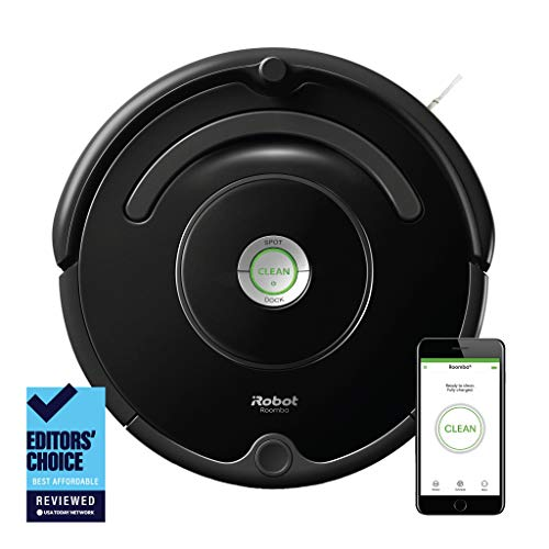 iRobot Roomba 675 Robot Vacuum-Wi-Fi Connectivity,...