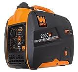 WEN 56200i Super Quiet 2000-Watt Portable Inverter...