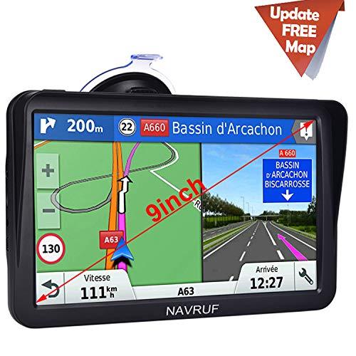 Car GPS Navigation,9 inch Truck GPS Touchscreen...