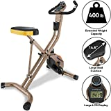 Exerpeutic Gold Heavy Duty Foldable Exercise Bike...