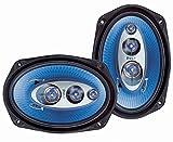Pyle 6''x 9'' 400 Watt Four-Way Speakers (Pair)...