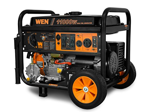 WEN DF1100T 11,000-Watt 120V/240V Dual Fuel...