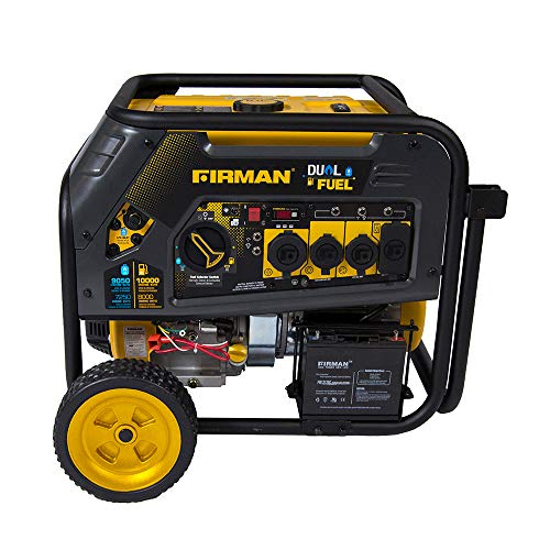 Firman H08051 Extended Run Time Generator Electric...