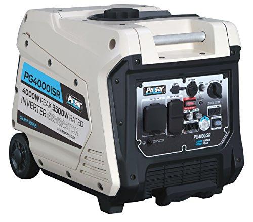 Pulsar 4,000W Portable Gas-Powered Quiet Inverter...