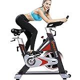 L NOW Indoor Cycling Bike, Belt Drive Indoor...