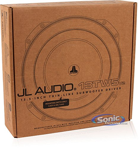 13TW5V2-2 - JL Audio 13.5' 2-Ohm 600W Shallow...