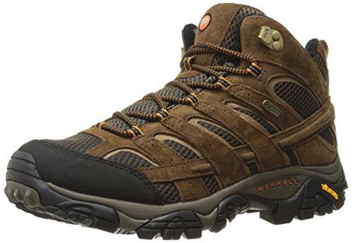 Merrell Men's Moab 2 Mid Waterproof Hiking Boot,...