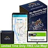 GPS Tracker Vyncs No Monthly Fee OBD, Real Time 3G...