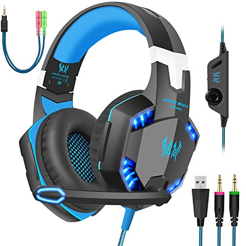 Gaming Headset with Mic for PC,PS4,Xbox...