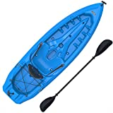 Lifetime Lotus Sit-On-Top Kayak with Paddle, Blue,...