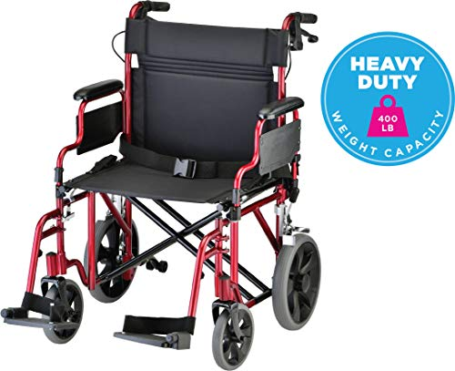 NOVA Bariatric Transport Chair with...