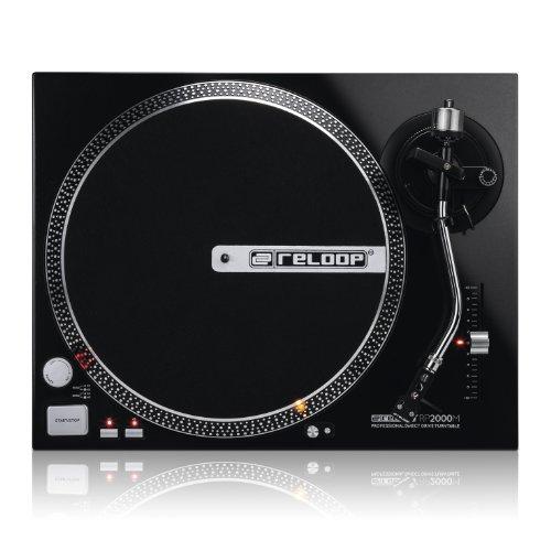 Reloop RP-2000-M DJ Turntable with Quartz Driven...