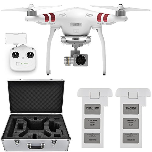 DJI Phantom 3 Standard Quadcopter Aircraft with...
