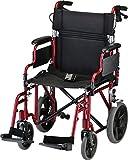 NOVA Lightweight Transport Chair with Locking Hand...