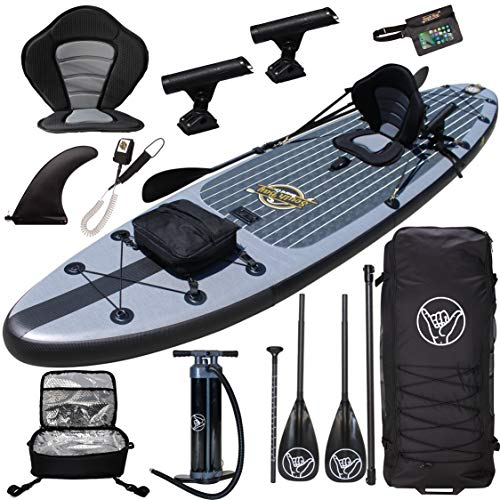 Premium Inflatable Stand Up Paddle Board - 11'6'...