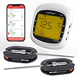 Smart Bluetooth BBQ Grill Thermometer  Upgraded...