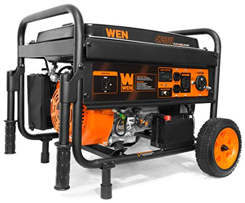 WEN 56475 4750-Watt Portable Generator with...