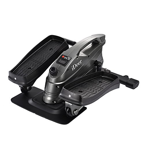 IDEER LIFE Mini Elliptical Trainers Pedal...
