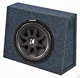 KICKER 43C104 10' 300W 4-Ohm Car Audio Subwoofer...