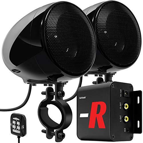 GoHawk TN4-R Amplifier 4' Full Range Waterproof...