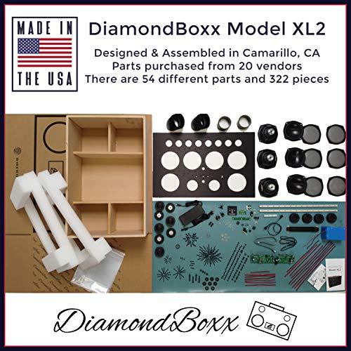 DiamondBoxx Model XL2 Blue 462 - The Biggest Bass...