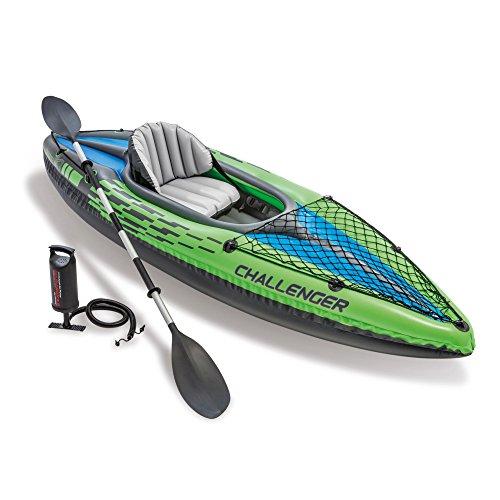 Intex Challenger K1 Kayak, 1-Person Inflatable...
