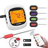 Wireless Meat Thermometer for Grilling, Bluetooth...