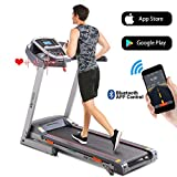 ANCHEER Folding Treadmill, 3.0HP Electric...