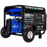 DuroMax XP12000EH Dual Fuel 12000 Watt Electric...