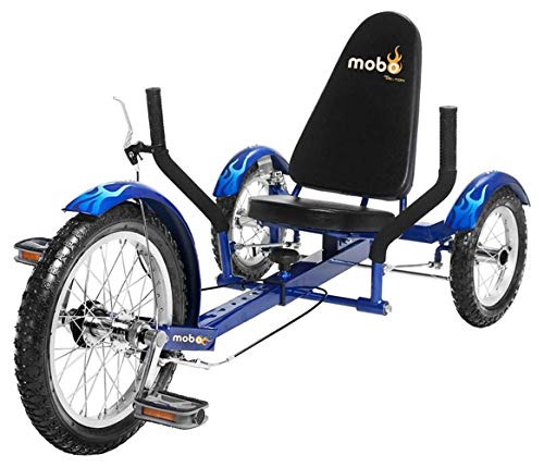 Mobo Triton Recumbent Trike. Kids 3-Wheel Bike....