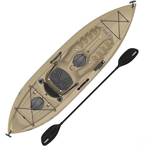 Lifetime Muskie Angler Sit-On-Top Kayak with...