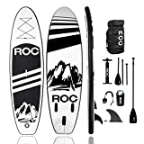 Roc Inflatable Stand Up Paddle Board with Premium...