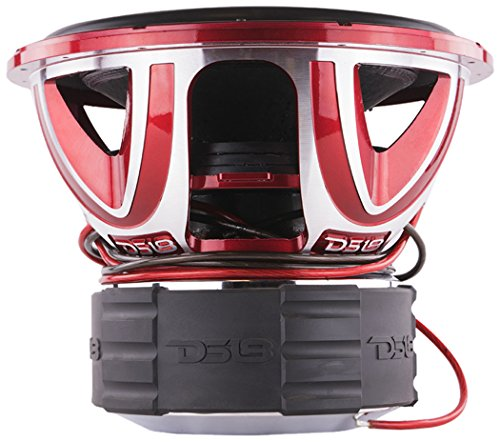 DS18 HOOLIGAN X15.4D Subwoofer in Red with Kevlar...