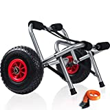 Kayak Cart Dolly Wheels Trolley - Kayaking...