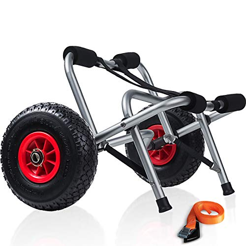 Kayak Cart Dolly Wheels Trolley -...