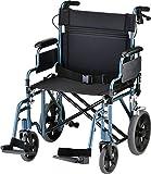 NOVA Bariatric Transport Chair with Locking Hand...