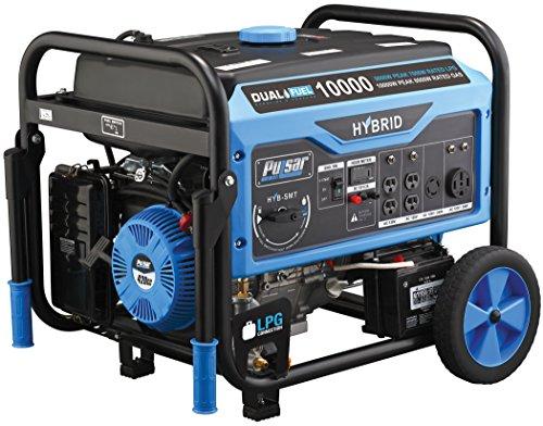 Pulsar PG10000B16 Portable Dual Fuel...