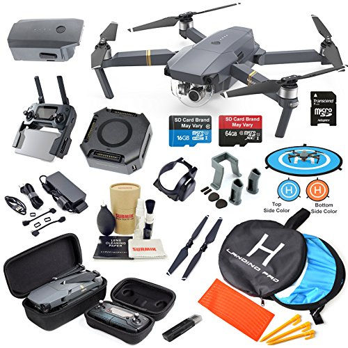 DJI Mavic Pro Drone Quadcopter Fly More Combo with...