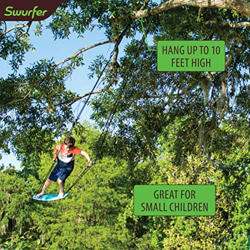 Swurfer Kick Stand Up Outdoor Surfing Tree Swing...