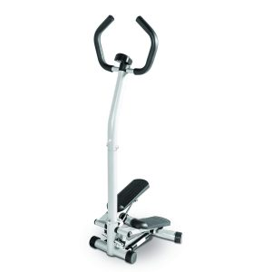 Marcy Home Cardio Exercise Mini Stepper with Handle and Display
