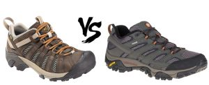 Keen Vs Merrel work shoes