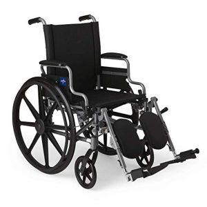 Medline Lightweight and User-friendly Wheelchair