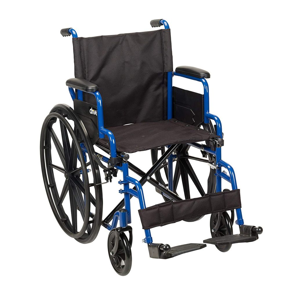 NEW Super Durable Medical Foldable Lightweight Manual Wheelchair