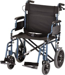 NOVA Medical products heavy duty transport wheelchair