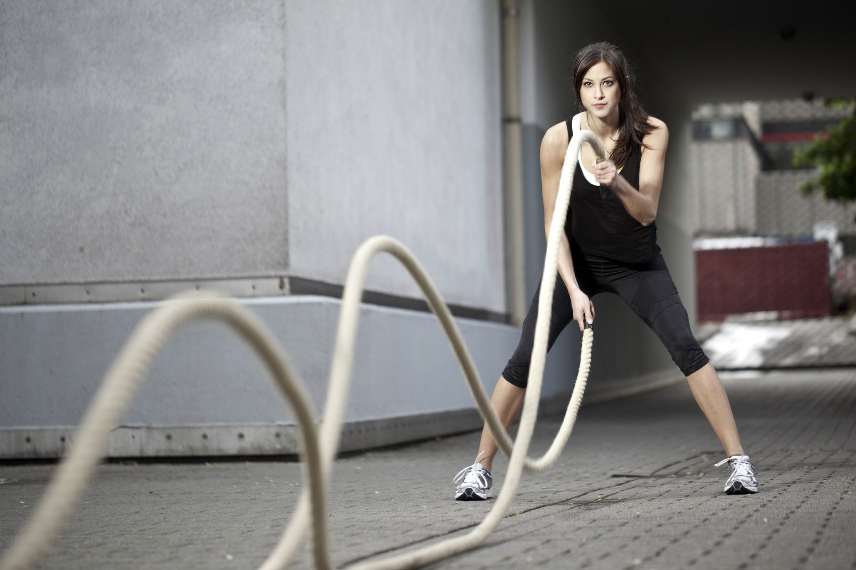 battle rope workout for beginners