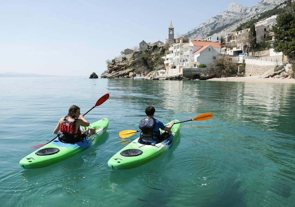 sit on top kayaking for beginners