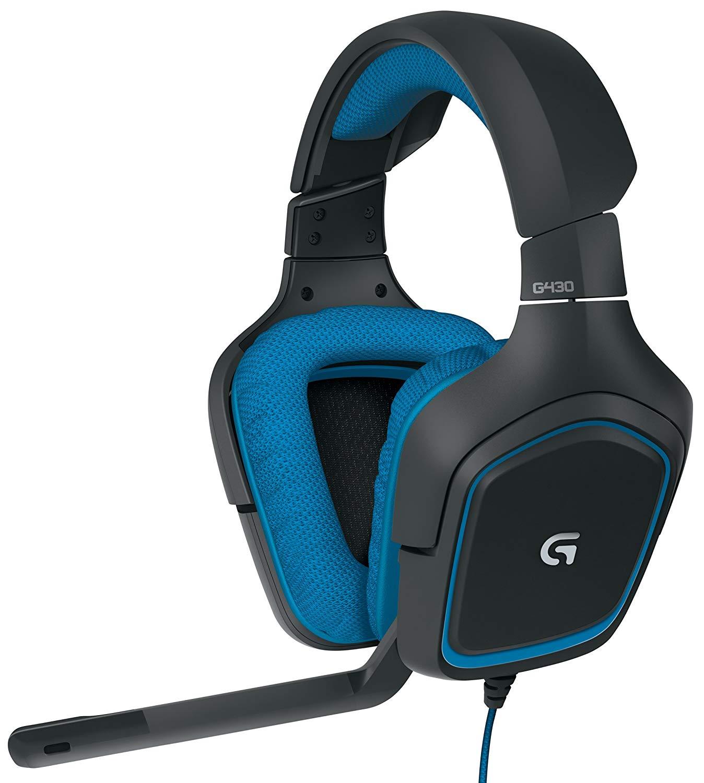 LOGITECH G430 best gaming headphones